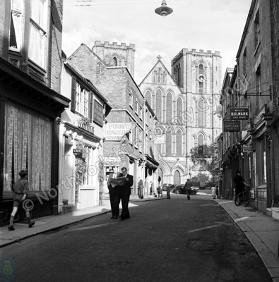 Ripon Cathedral and Kirkgate